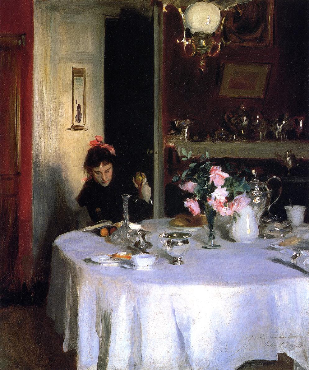 The Breakfast Table, 1883
